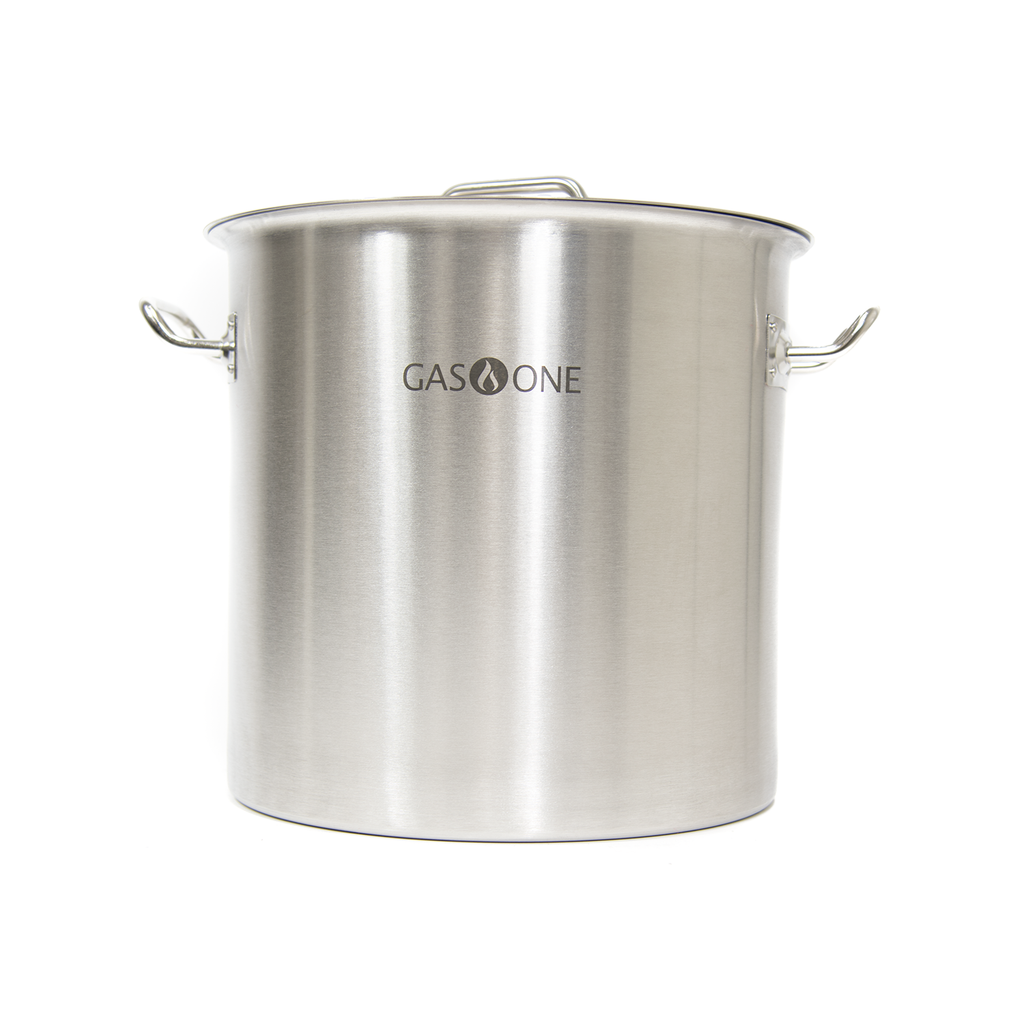 Stainless Steel Stockpot w/Steamer 24 QT (#ST-24)