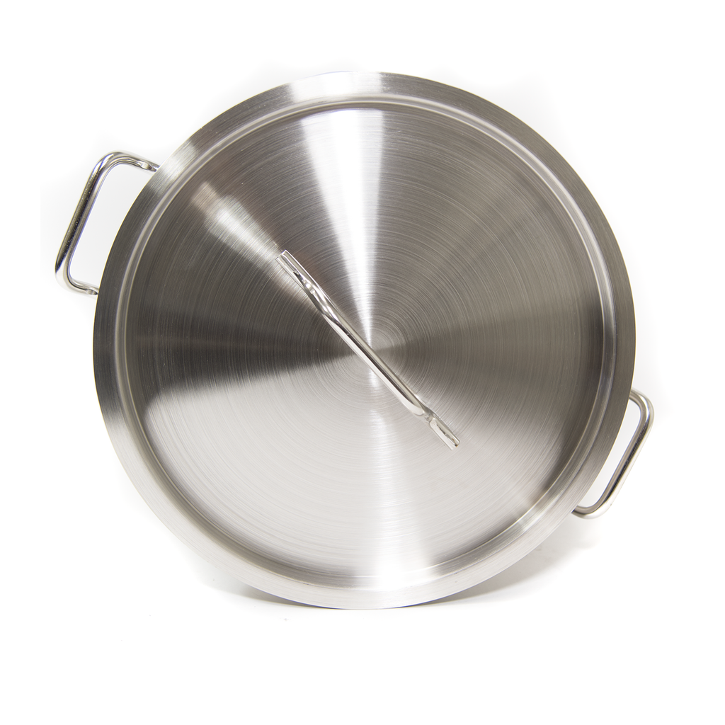 Stainless Steel Stockpot w/Steamer 32 QT (#ST-32)