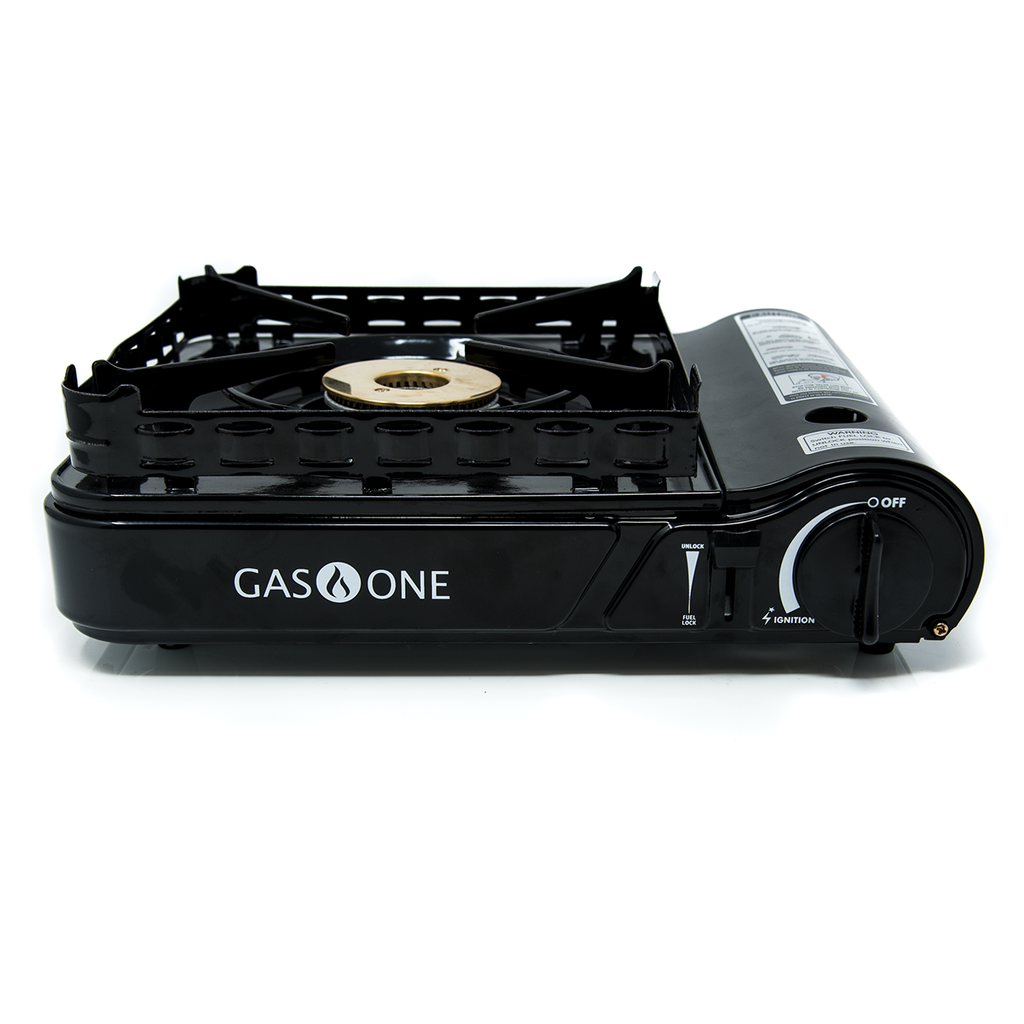 15,000 BTU Portable Butane and  Propane Camp Stove (#GS-3900P)