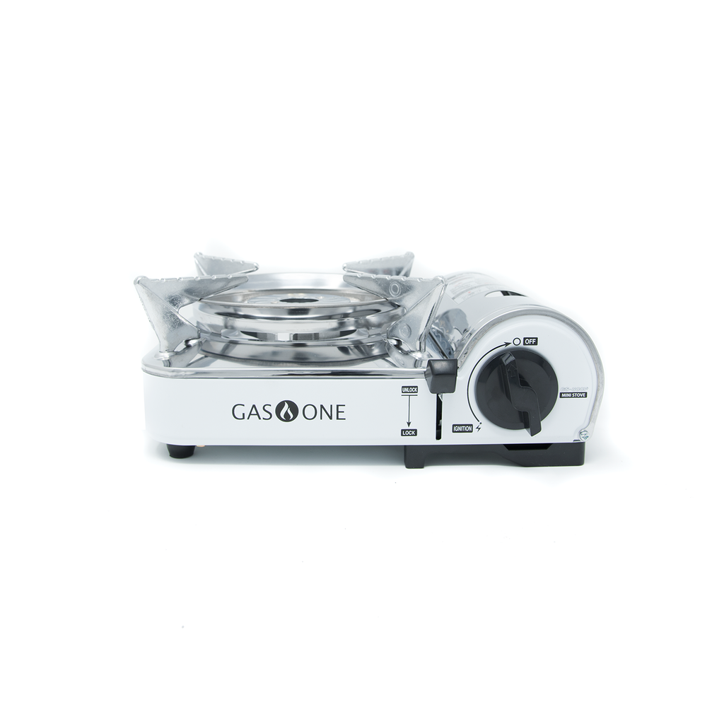 7,650 BTU Portable Butane and Propane Mini Camp Stove (#GS-800P)