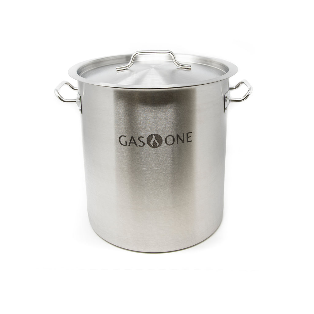 Stainless Steel Brewing Pot 20 QT/5 Gal