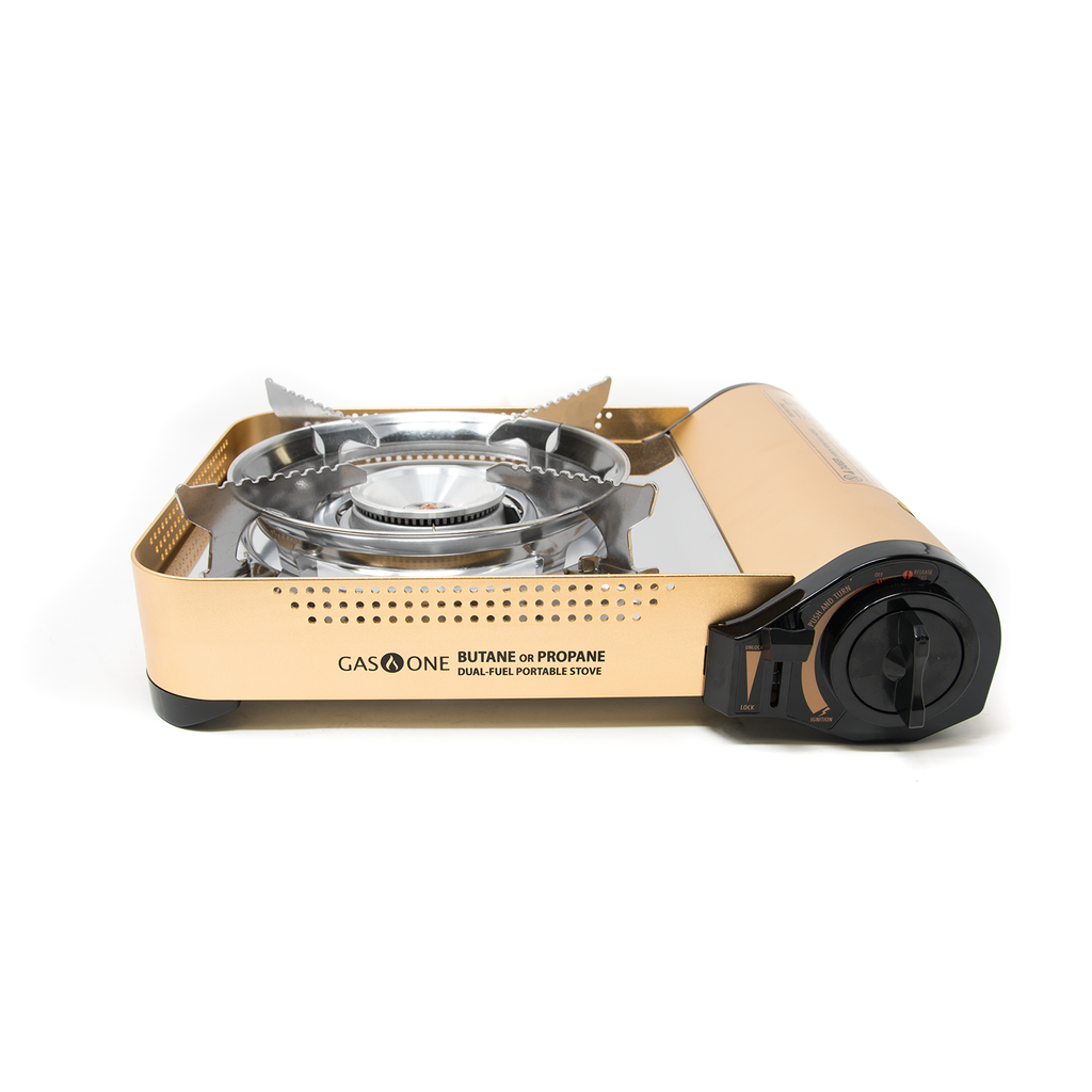 12,000 BTU Portable Butane and Propane Camp Stove (#GS-4000P)