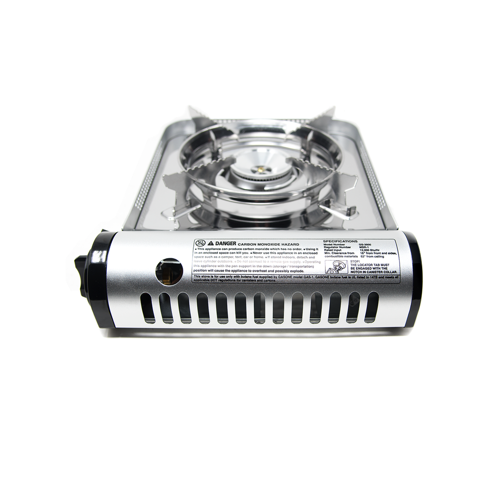 12,000 BTU Portable Butane Camp Stove (#GS-3950)