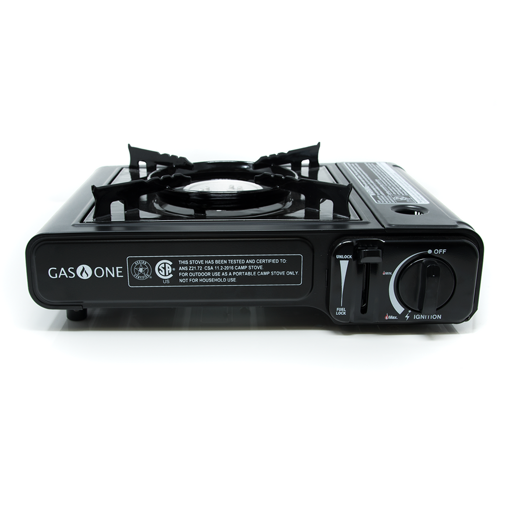 7,650 BTU Portable Butane Camp Stove (#GS-1000)