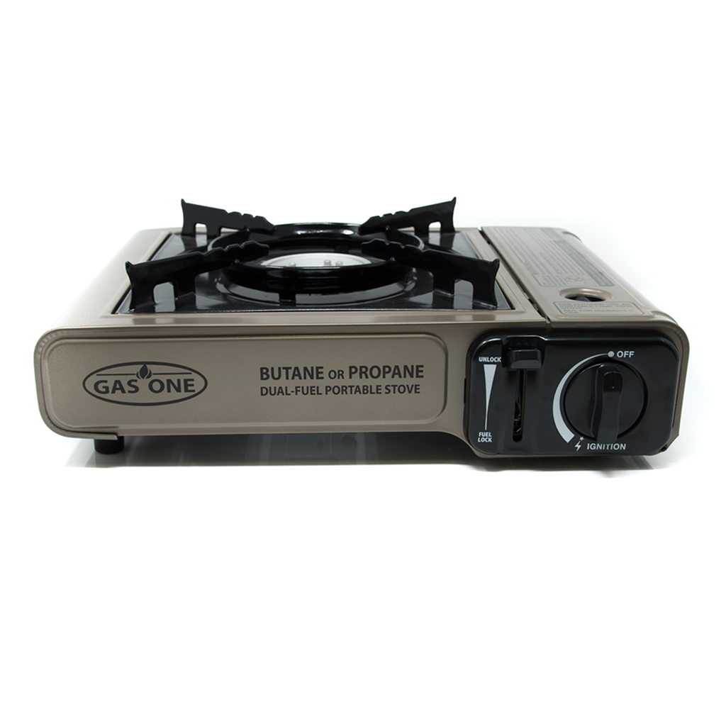 8,000 BTU Portable Butane and  Propane  Camp Stove (#GS-3400P)