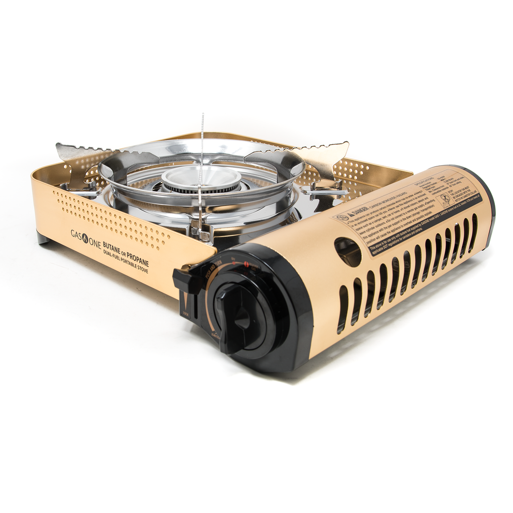 12,000 BTU Portable Butane and Propane Camp Stove