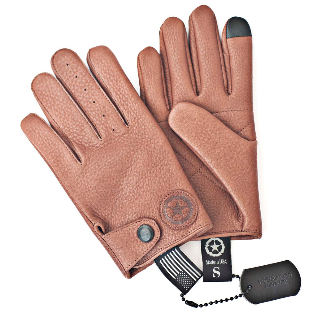 William Leather Gloves, Acorn
