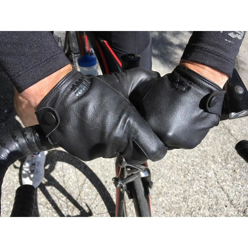The Varis - Mission Workshop Collaboration Gloves, Black