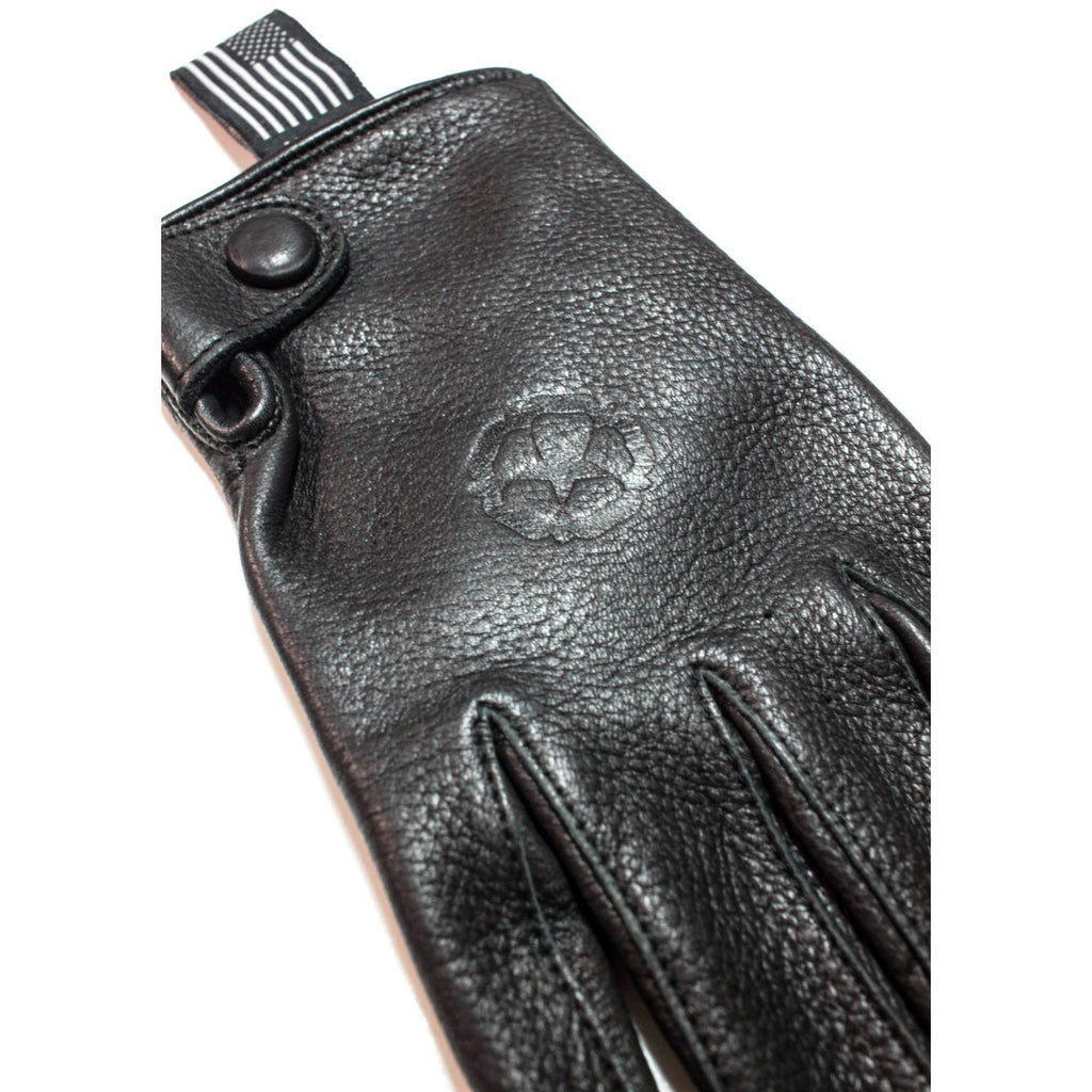 Jarvis Leather Gloves, Black