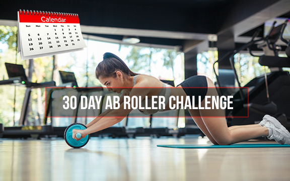 30 day ab roller challenge