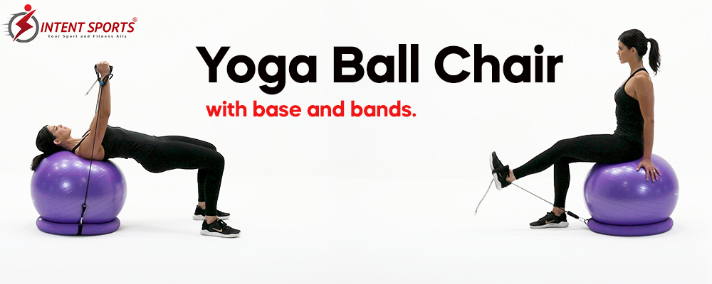 yoga ball crunches