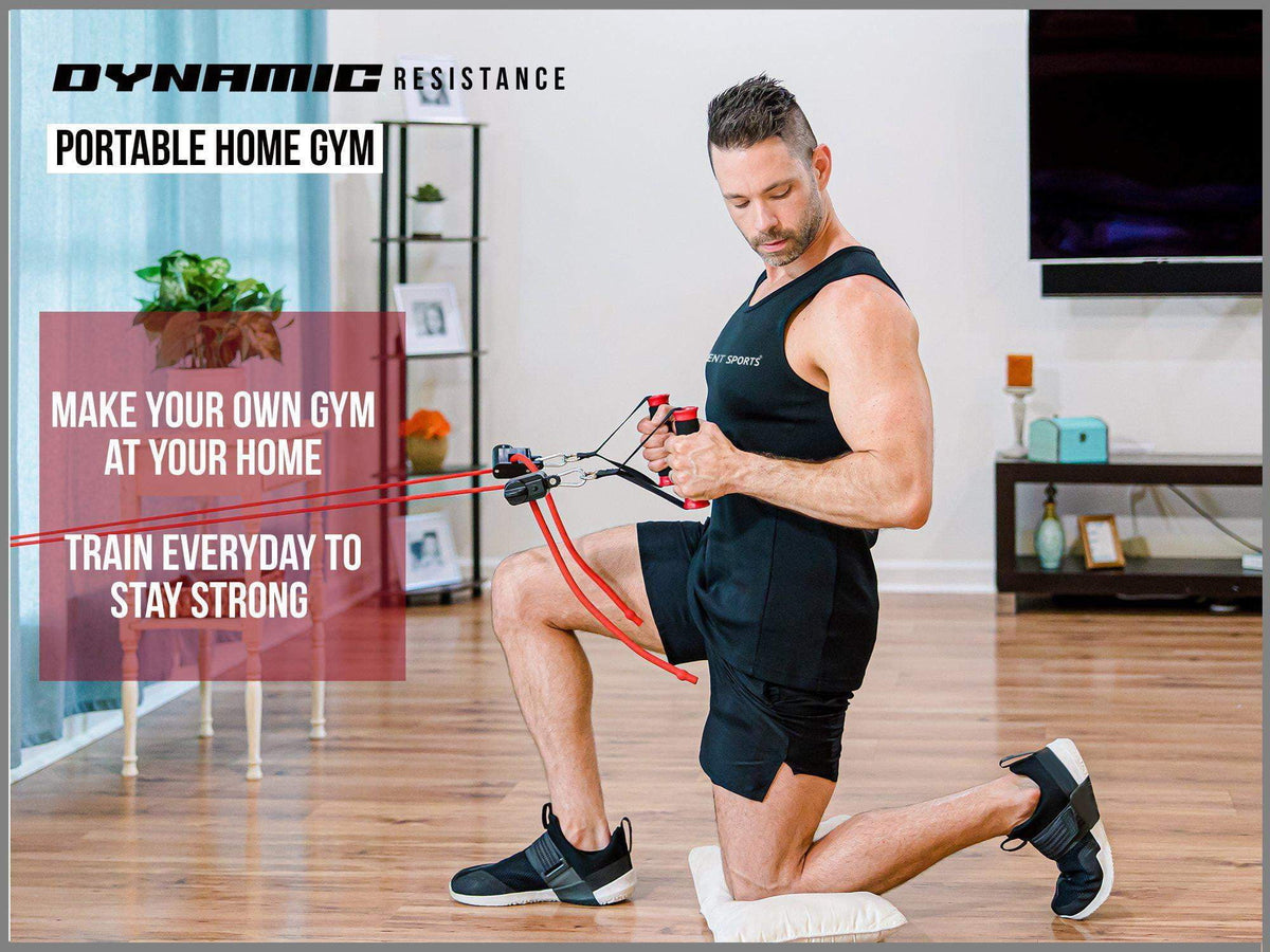 Portable Home Gym – Dynamic Total Body Workout - Intent Sports