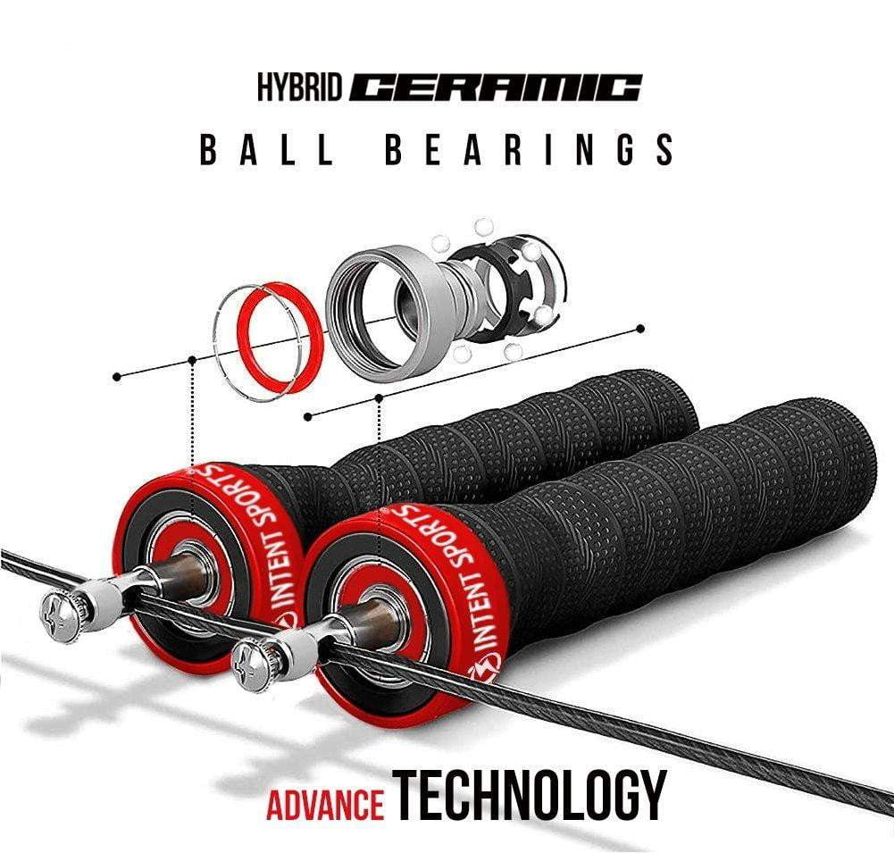 Jump Rope with Hybrid Ceramic Bearings