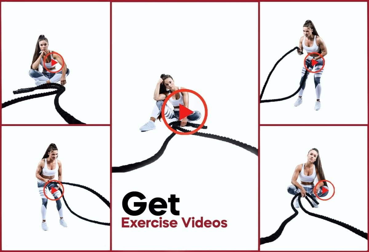Pro Workout Battle Rope - Intent Sports