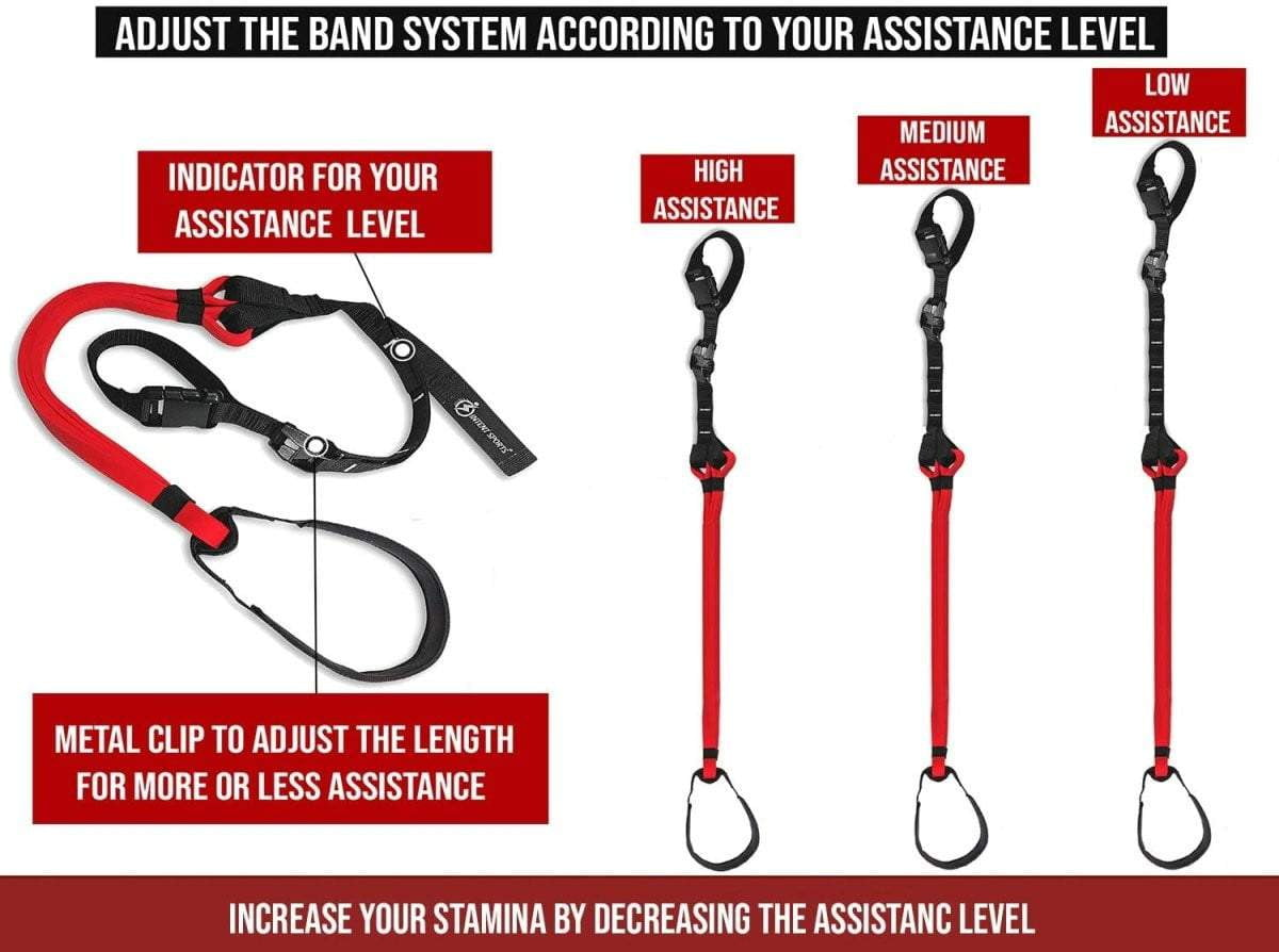 Pull Up Assist Band System - Intent Sports