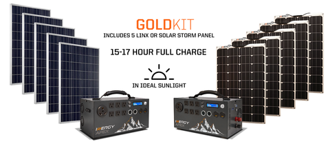 APEX GOLD KIT WITH LINX OR SOLAR STORM PANELS