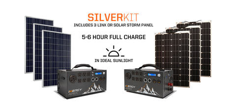 APEX SILVER KIT WITH LINX OR SOLAR STORM PANELS