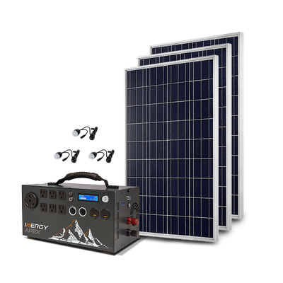 Silver Kit—Apex with 3 Solar Storm Panels