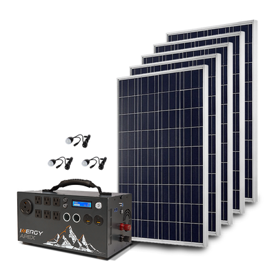 Gold Kit—Apex with 5 Solar Storm Panels