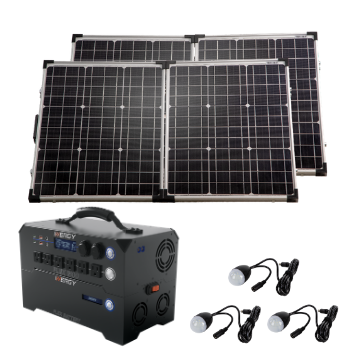 Deposit For Silver Kit—Inergy Flex 1500 Power Station with 2 Ascent 100 Folding Panels