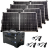 Gold Kit—Inergy Flex 1500 Power Station with 4 Ascent 100 Folding Panels (20% PRE-SALE DEPOSIT)