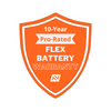 10-Year Pro-Rated Battery Warranty