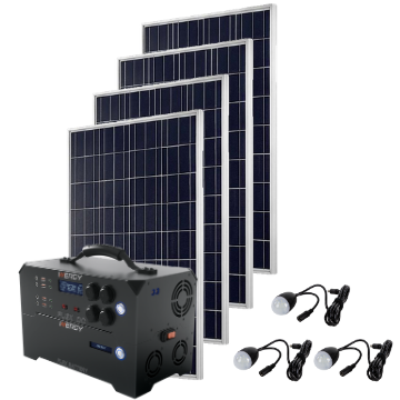 Deposit For Gold Kit—Inergy Flex DC Power Station with 4 Storm Panels