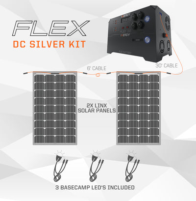 Deposit For Silver Kit—Inergy Flex DC Power Station With 2 Linx Panels