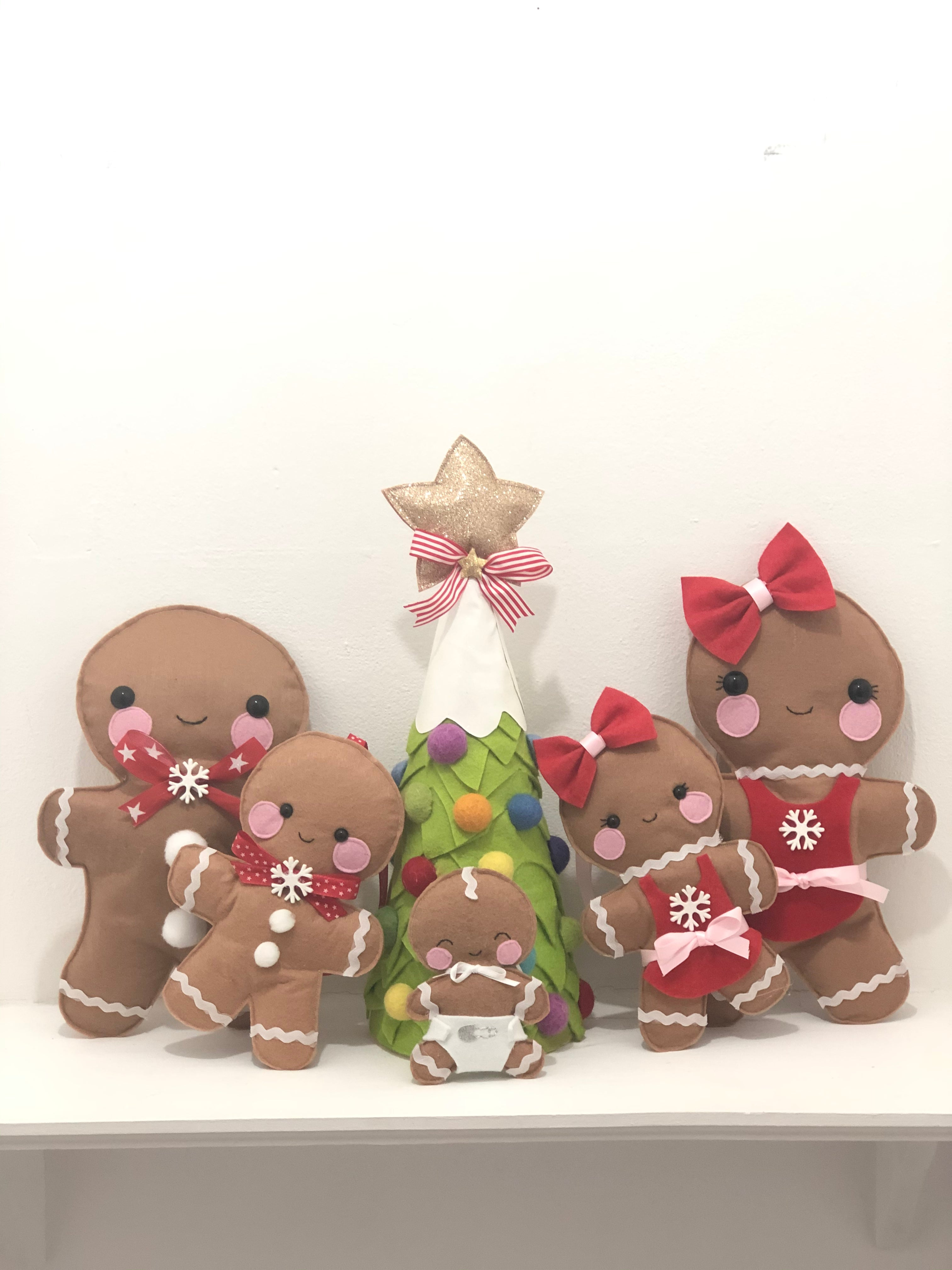 Mr Cinnamonsocks Gingerbread Family