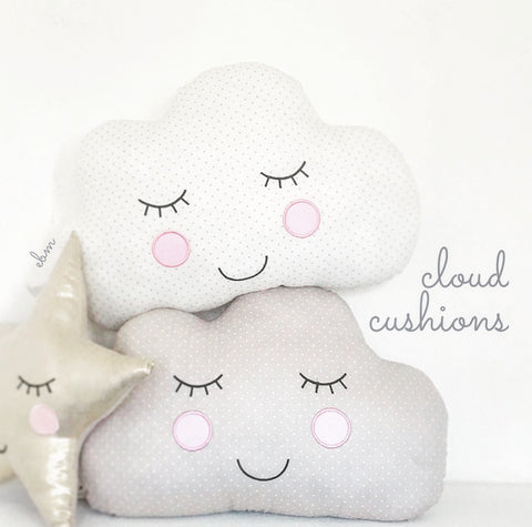 Spotty Cloud Cushion