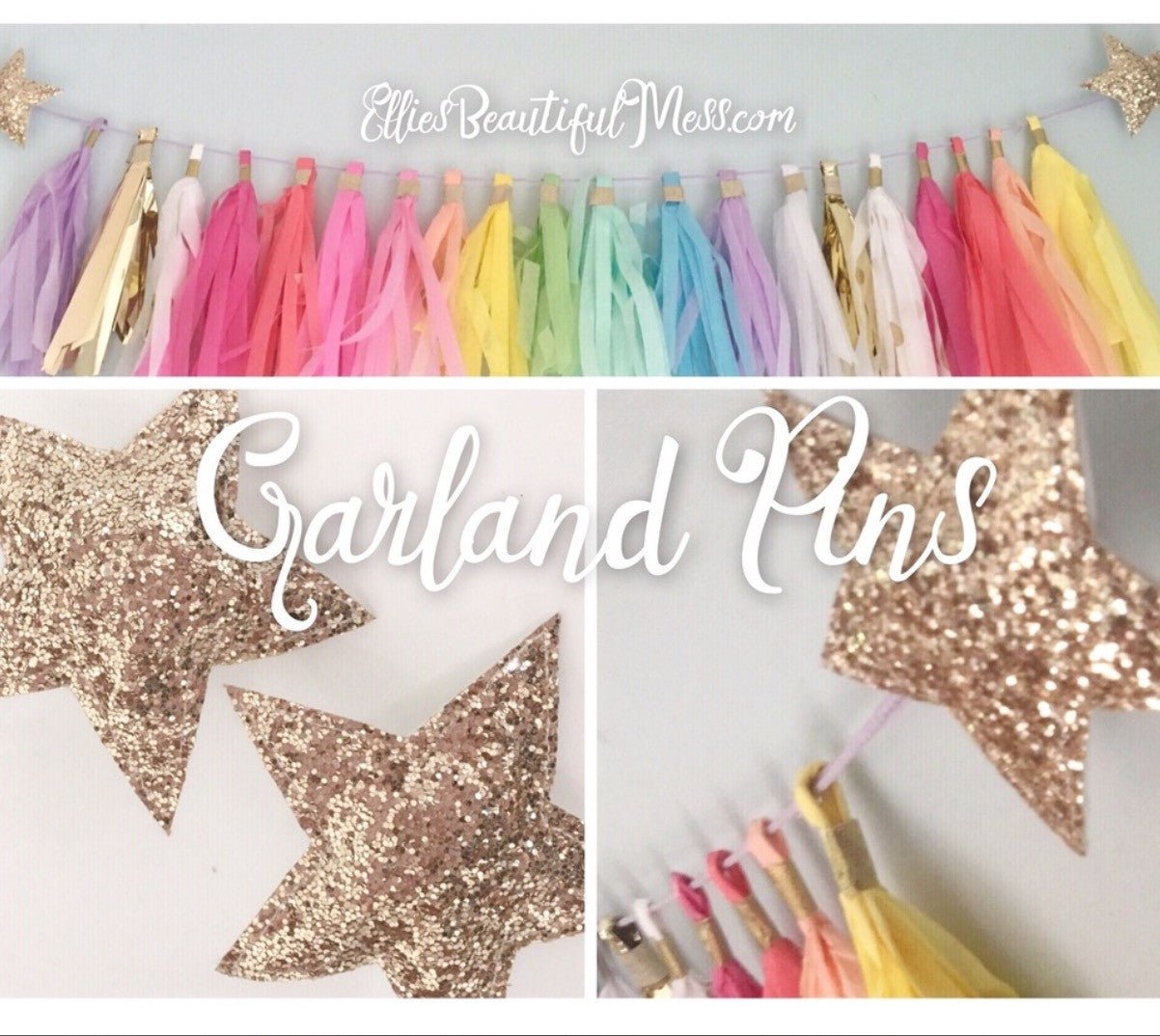 Set of Garland Pins