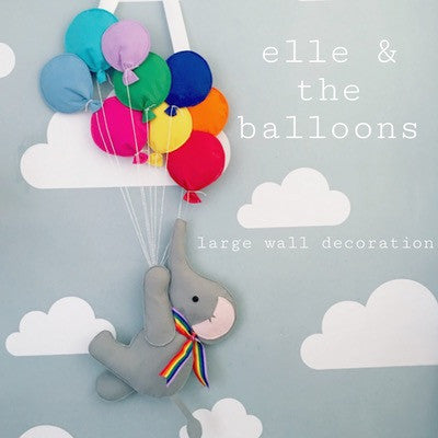 Elephant & The Rainbow Balloons