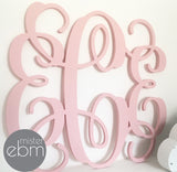 Triple Monogrammed Initials Large 40cm