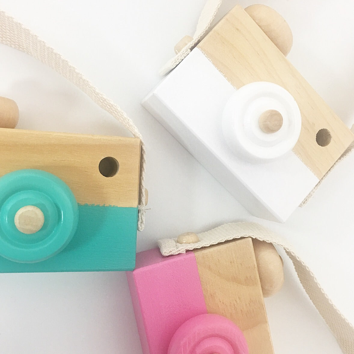 Wooden Camera Toys