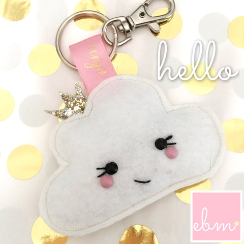 Princess Cloud Keyring