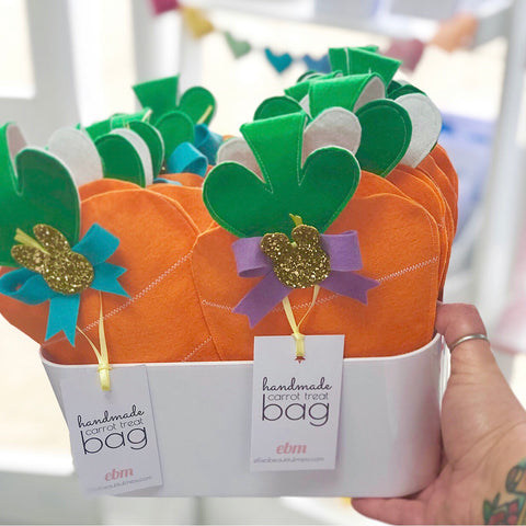 Easter Bunny Carrot Treat Bags