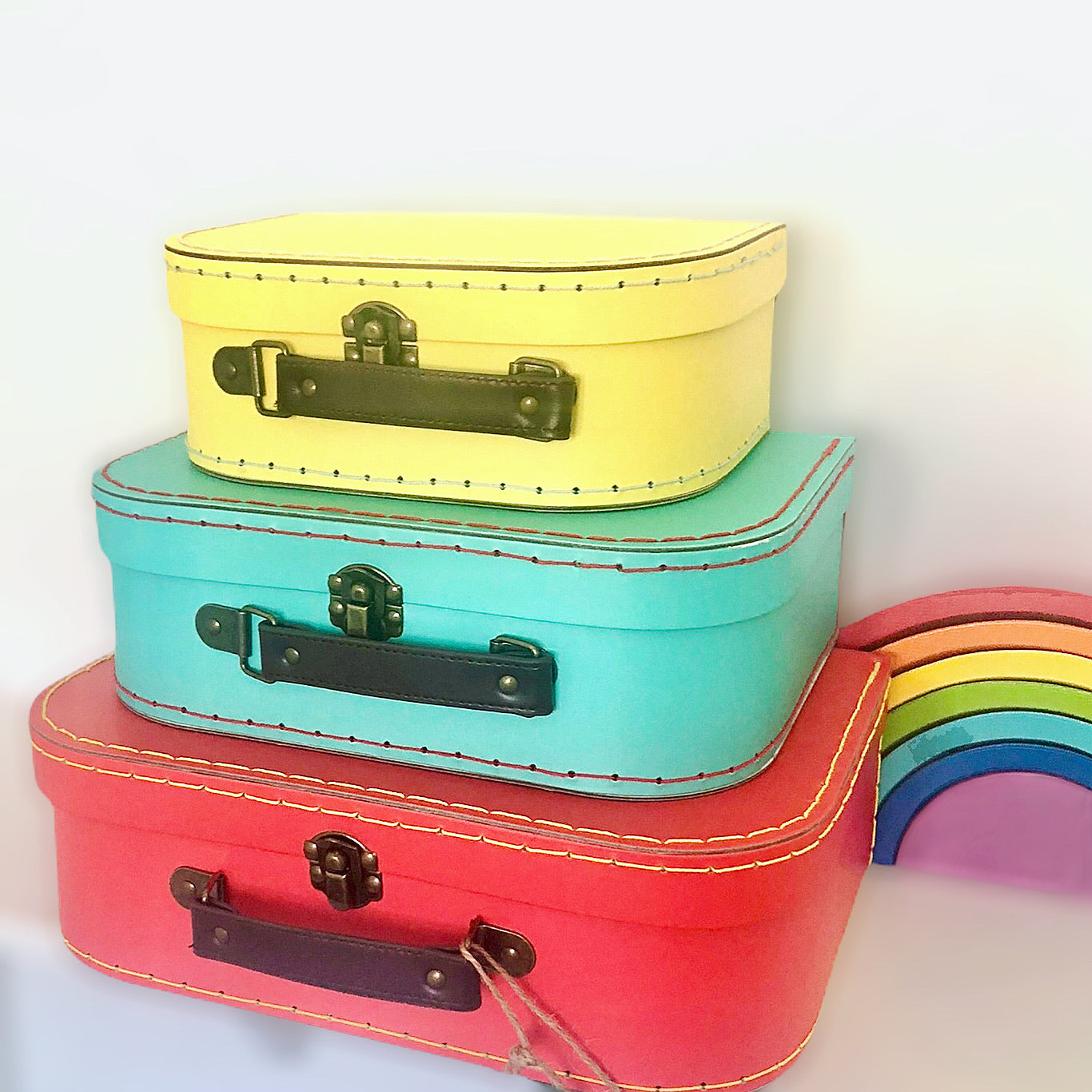 Bright Suitcase Set