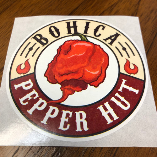 3 Inch Sticker - Bohica Pepper Hut - Bohica Pepper Hut