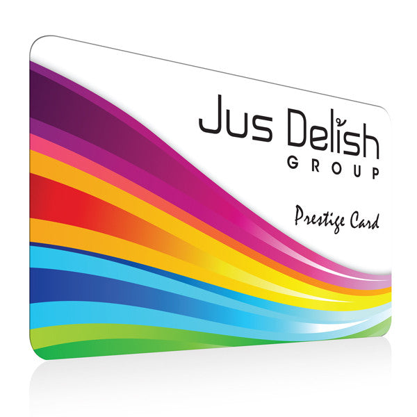 Jus Delish Group Membership Card