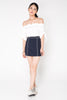 Embroided Skirt - Blue