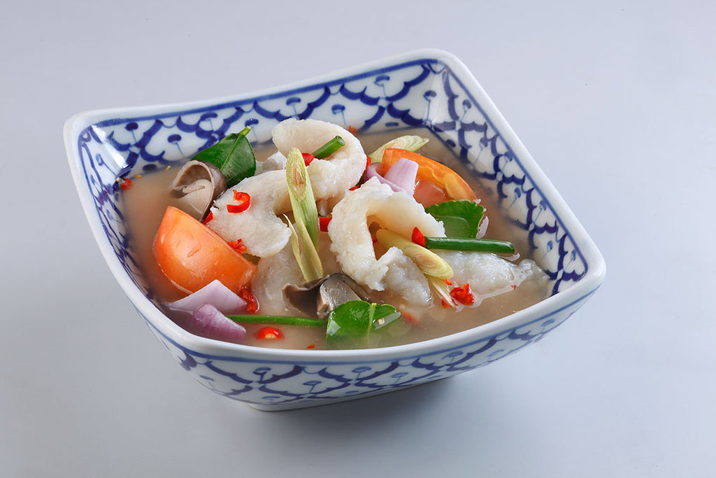 Tom Yum Soup (Clear) With Fish