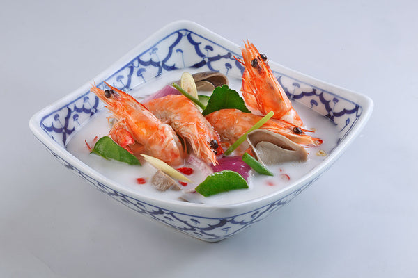 Tom Yum Soup (Coconut) With Prawn