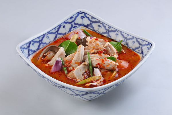 Tom Yum Soup (Red) With Chicken