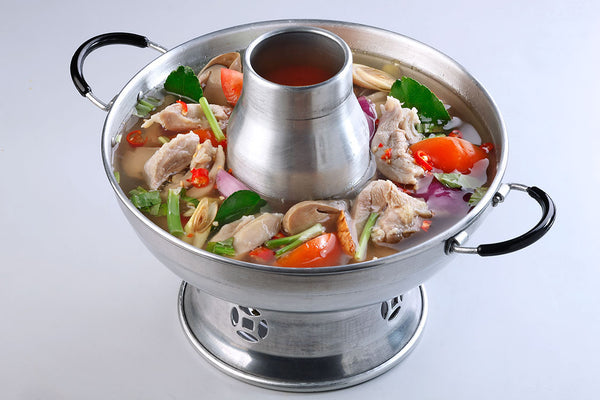 Tom Yum Soup Hotpot (Clear) With Chicken