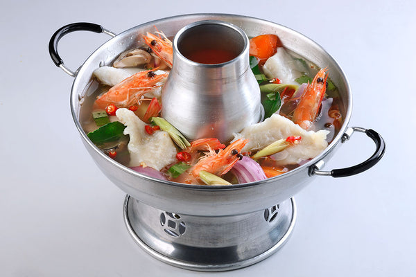 Tom Yum Soup Hotpot (Clear) With Seafood