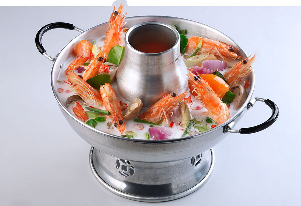 Tom Yum Soup Hotpot (Coconut) With Prawn