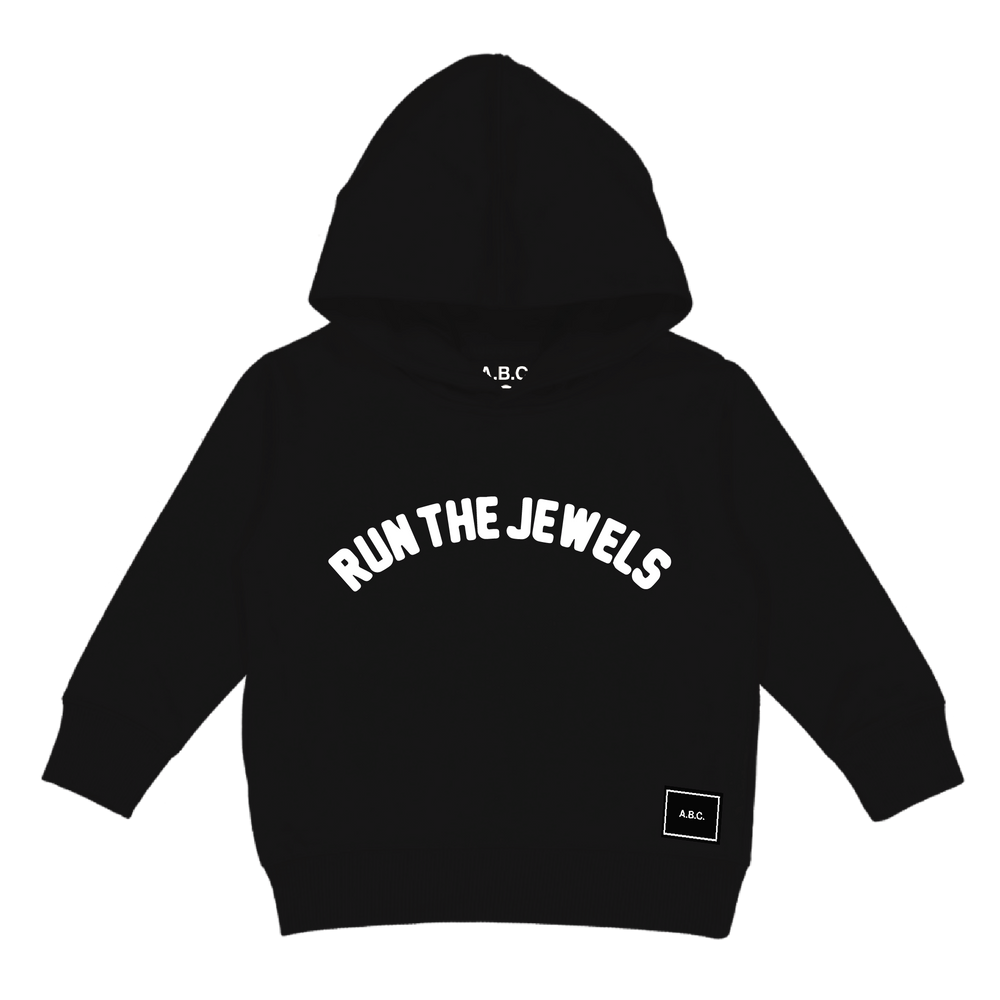 RUN THE JEWELS - HANDS HOODIE (BLACK)
