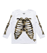 X-RAY LONG SLEEVE (WHITE/CAMO)