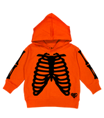 X-RAY HOODIE (ORANGE/BLACK)