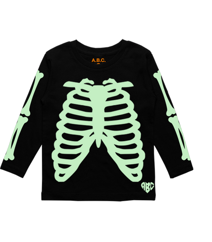 X-RAY LONG SLEEVE (BLACK/GLOW)